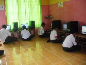 @ Computer Lab.