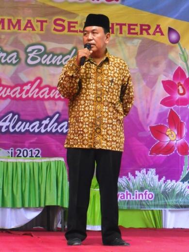 Ketua Yayasan Ir. H. Moh. Adnan Madjid, M.Si.
