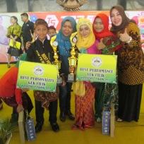 Dengan Ketua Disbudpar Kab. Jombang dan Sharla (the winner of Kid Voice Indonesia)