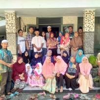 Dewan Guru Silaturahim ke Ketua Yayasan Bpk. Ainul Yaqin, Sudah menjadi tradisi saat lebaran