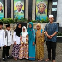 Mengikuti Lomba Tahfidz Quran di Masjid Agung Jombang